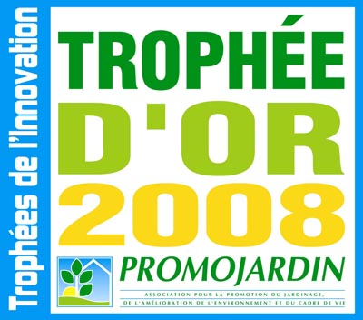 2008 Golden Trophy Promojardin Trophy category of innovation